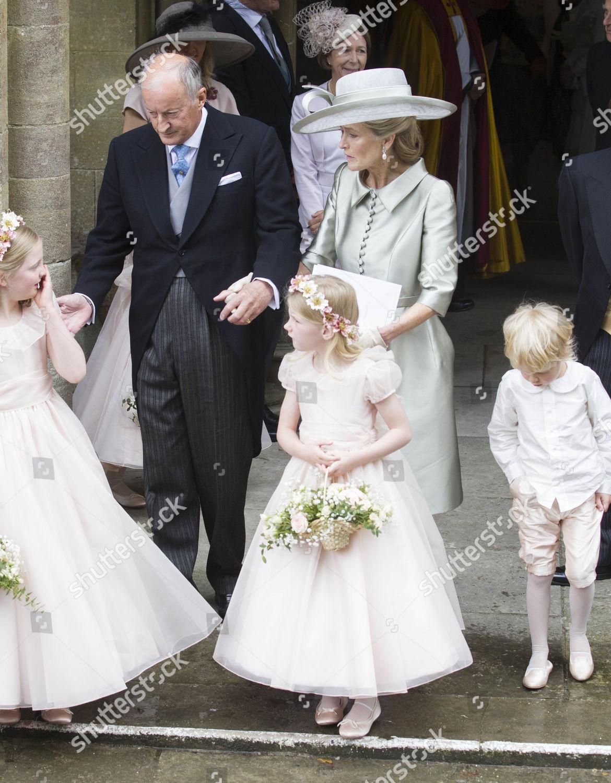 Stock photo of Wedding of Alexandra Knatchbull and Thomas Hooper, Romsey Abbey,  Hampshire, UK - 25 Jun 2016