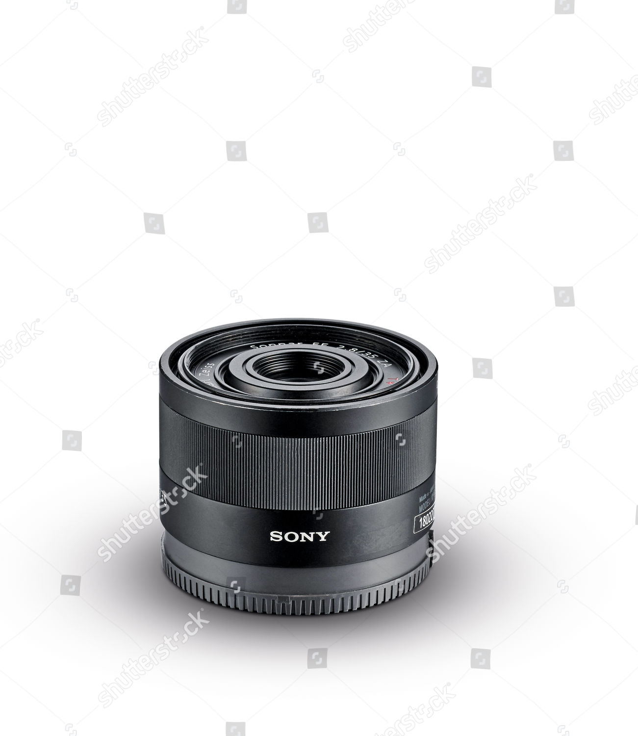Sony Fe 35mm F28 Za Carl Zeiss Editorial Stock Photo - Stock