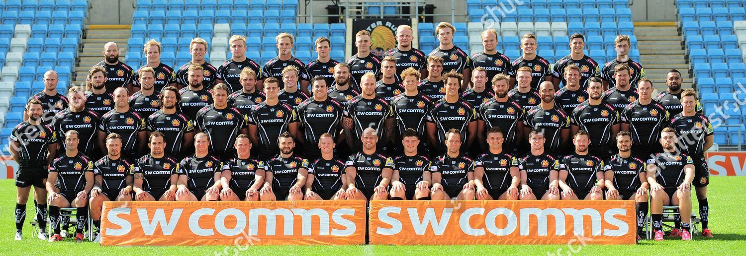 Exeter Chiefs Team 201617 Pose Photo Left Editorial Stock Photo Stock Image Shutterstock