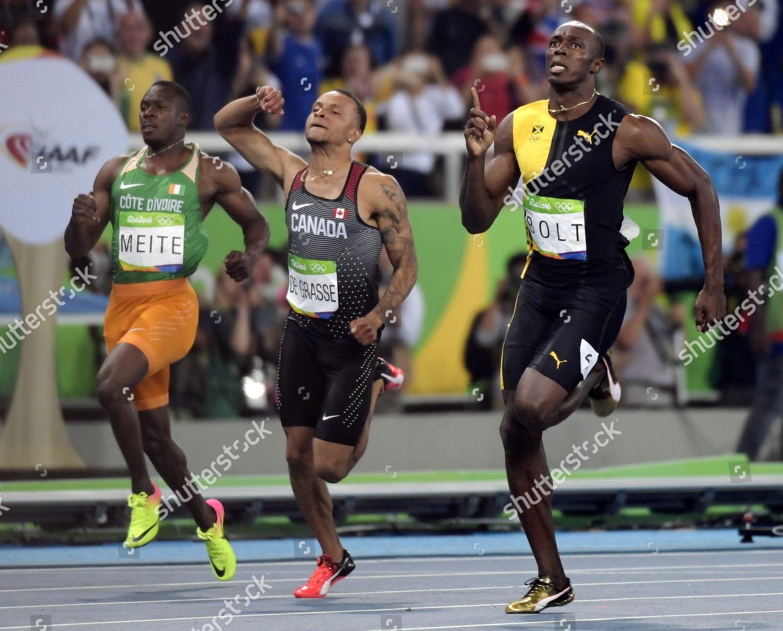 Usain Bolt Jamaica Took Gold Mens 100m Editorial Stock Photo Stock Image Shutterstock