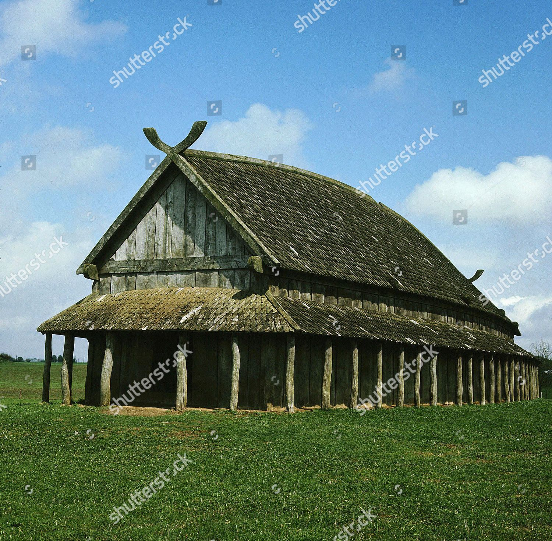 Viking Longhouse 20th Century Reconstruction Trelleborg