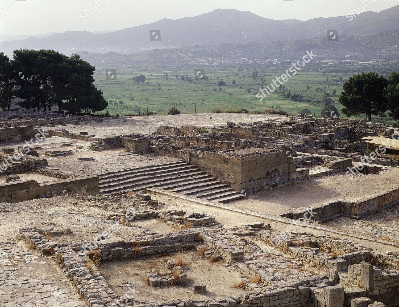 Palace Phaestos 2nd millennium...
