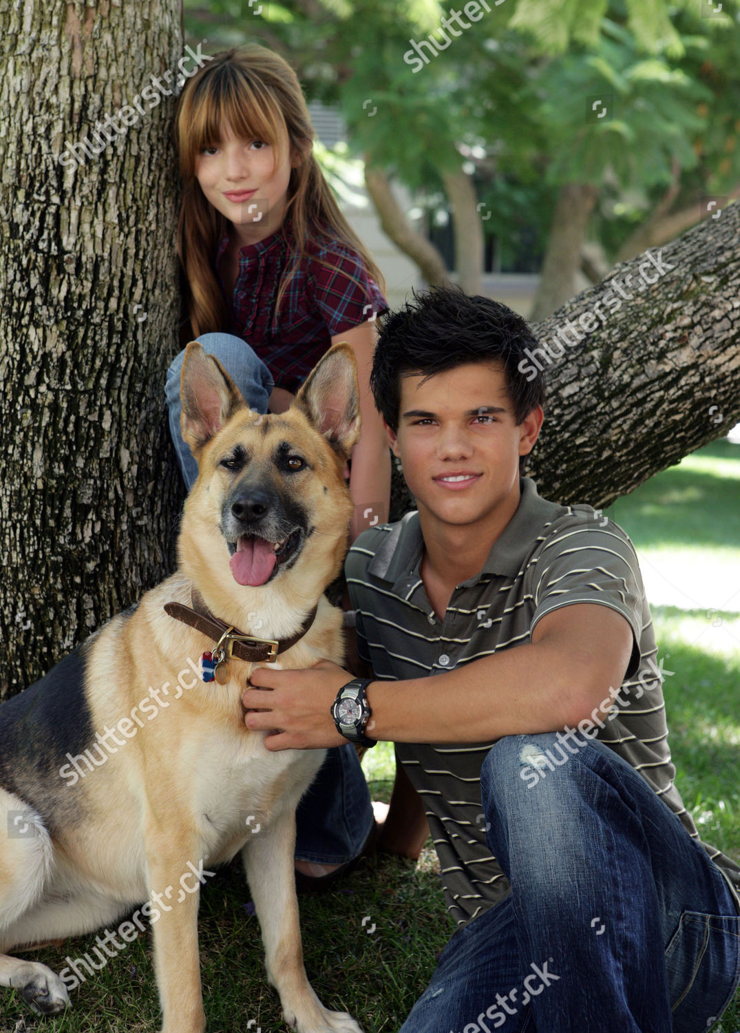 Bella Thorne Taylor Lautner Editorial Stock Photo Stock Image