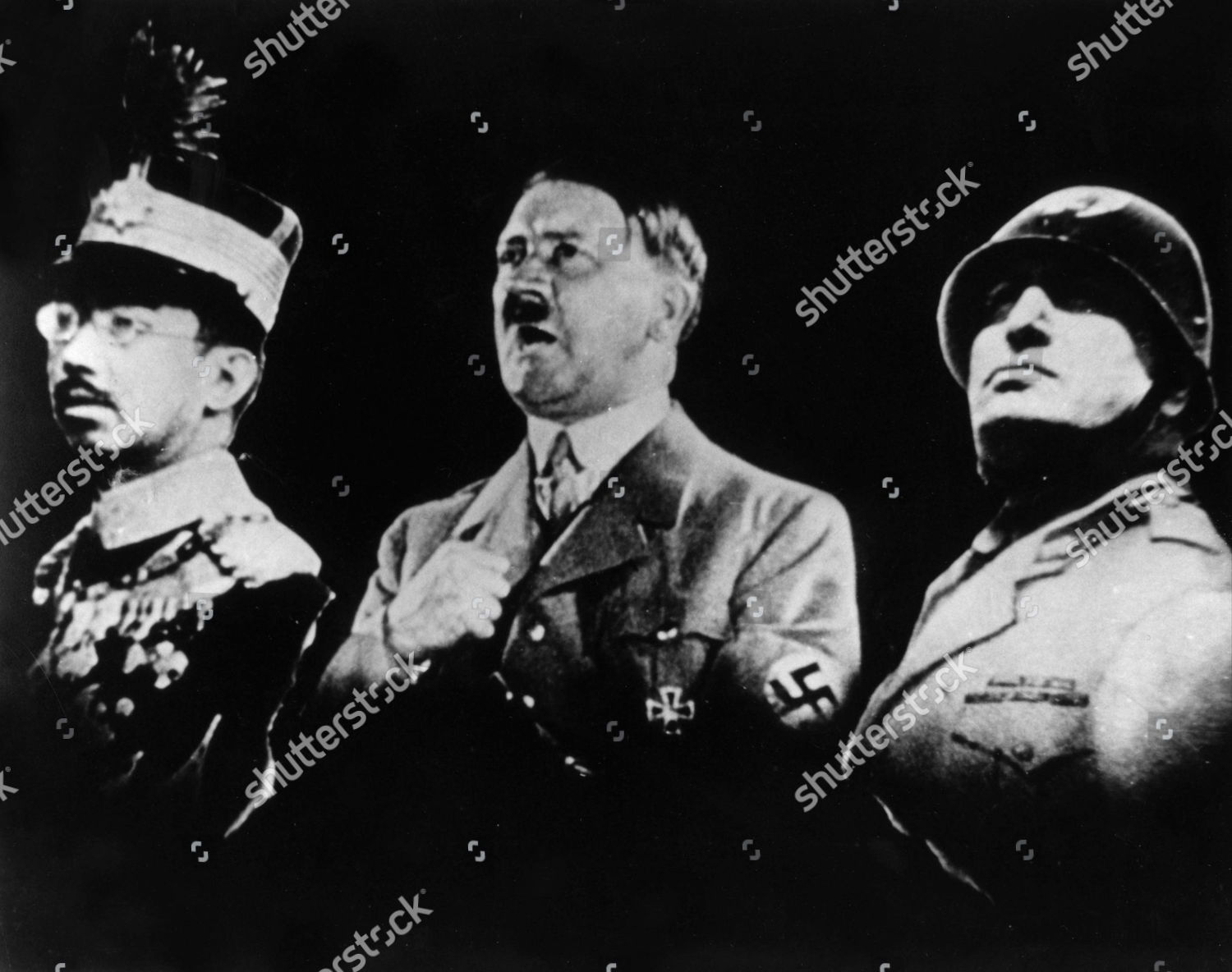Adolf hitler and benito mussolini apologise, can