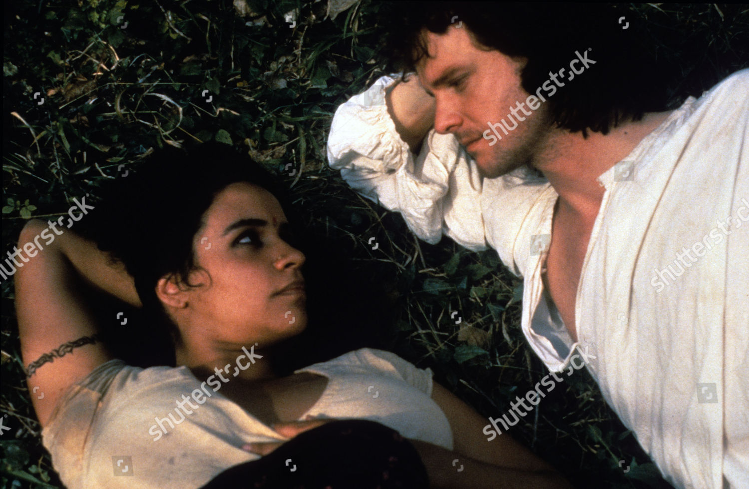 Amina Annabi Colin Firth Editorial Stock Photo Stock Image Shutterstock The Hour of The Pig