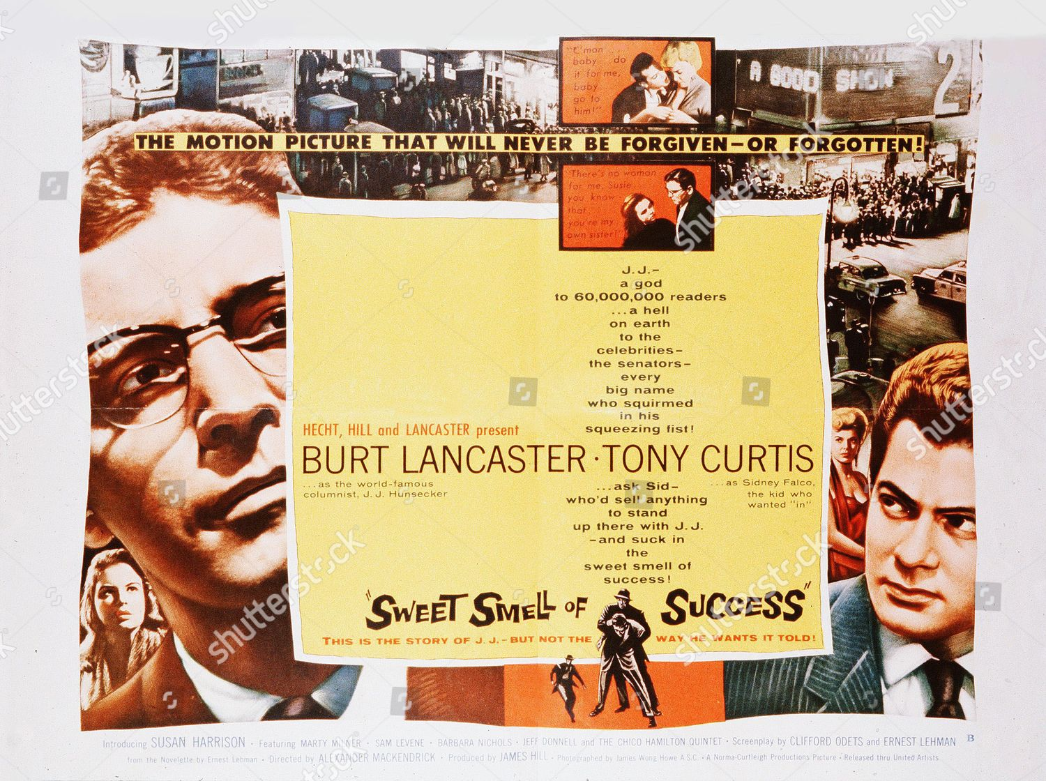 Stock photo of Sweet Smell Of Success - 1957