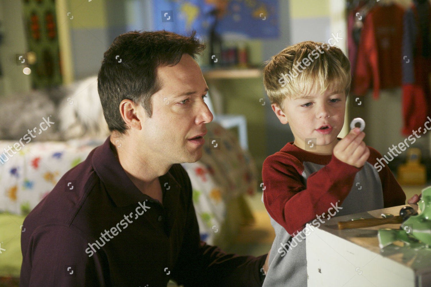A Dennis The Menace Christmas.George Newbern Maxwell Perry Cotton Editorial Stock Photo