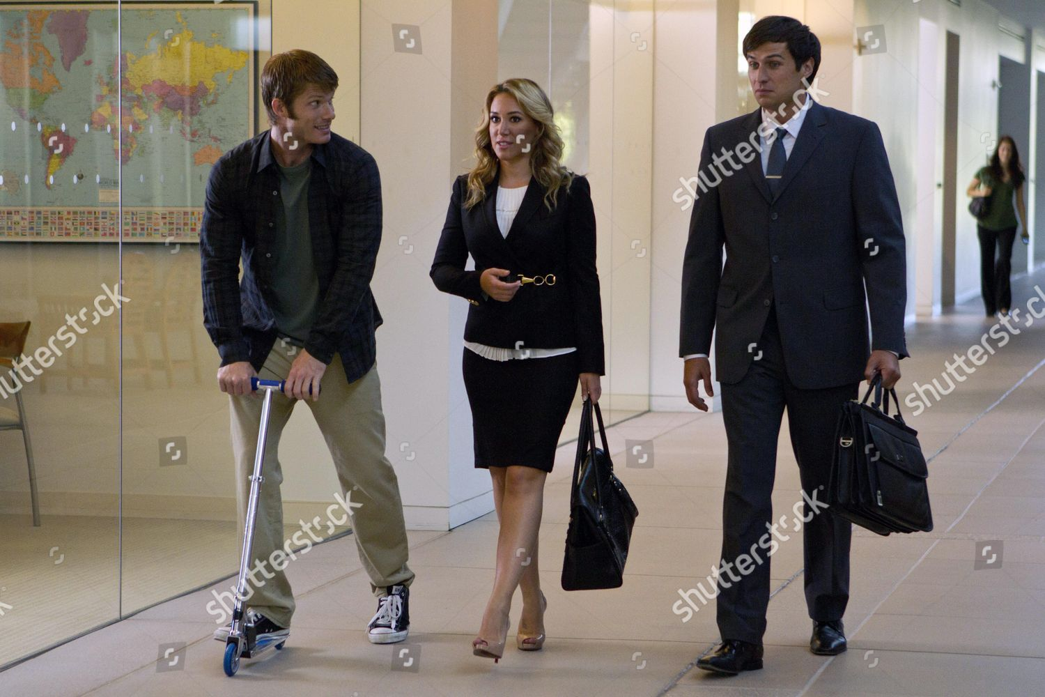 All About Christmas Eve.Chris Carmack Haylie Duff Gib Gerard Editorial Stock Photo