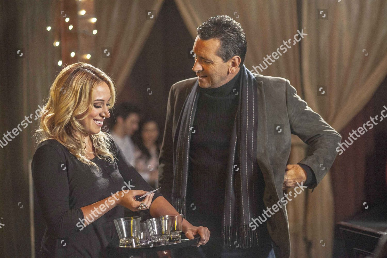 All About Christmas Eve.Haylie Duff Mark Lindsay Chapman Editorial Stock Photo