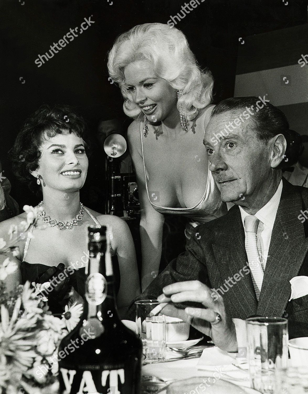 Jayne Mansfield Sophia Loren Clifton Webb Editorial Stock Photo Stock Image Shutterstock
