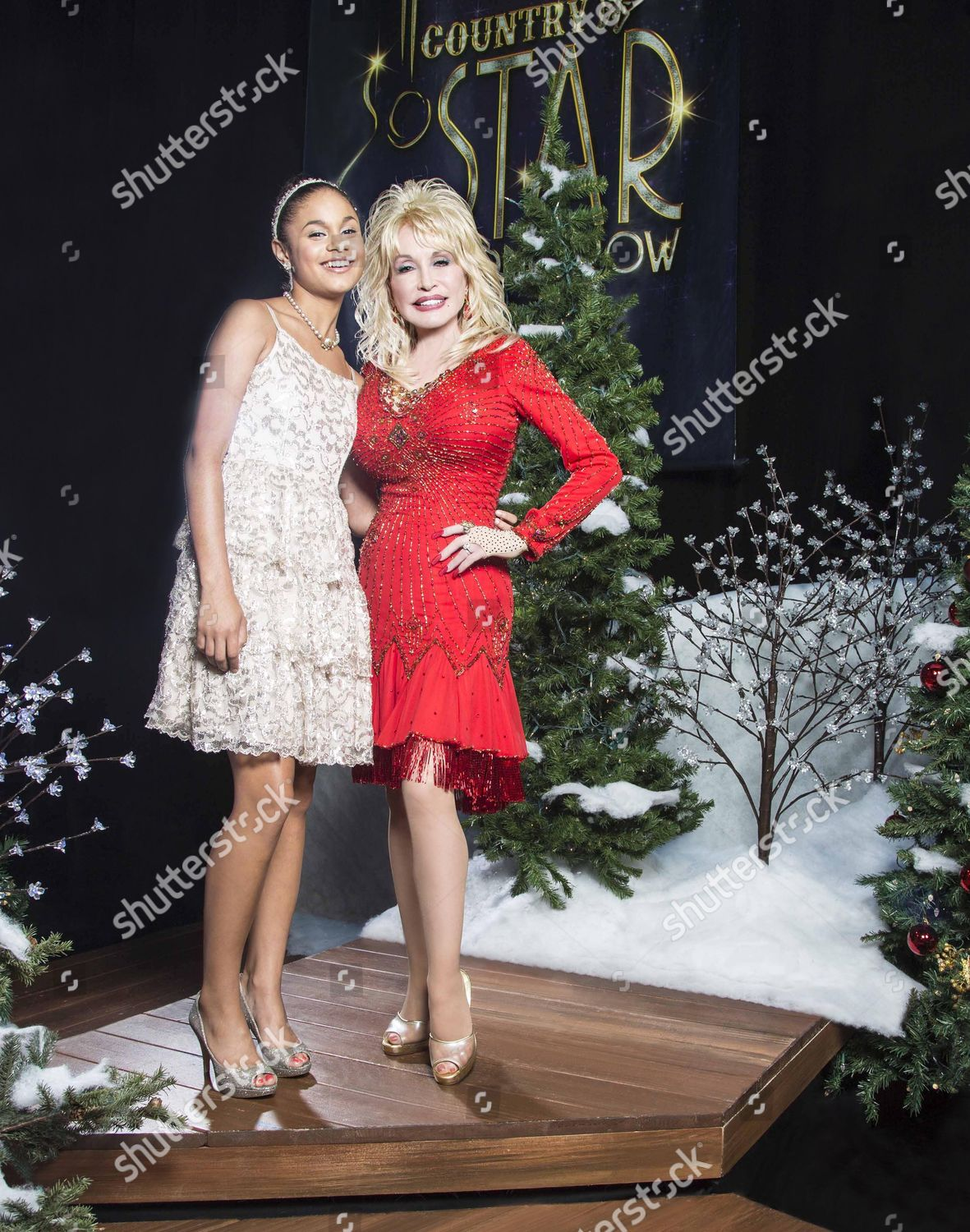 A Country Christmas Story.Desiree Ross Dolly Parton Editorial Stock Photo Stock