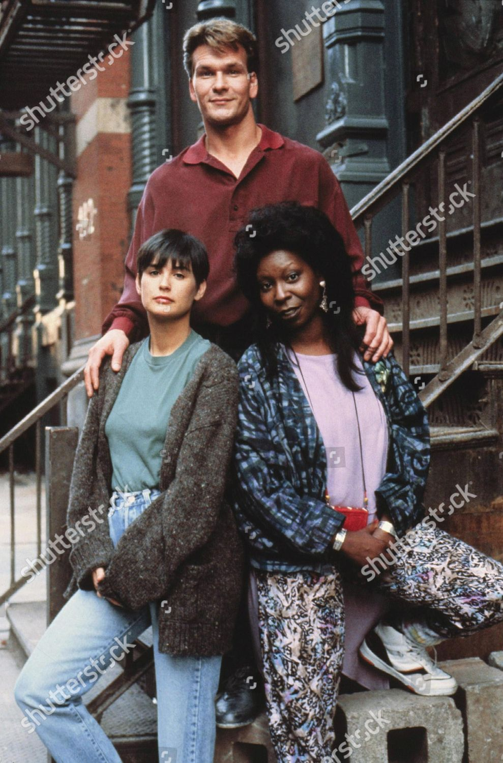 Demi Moore Patrick Swayze Whoopi Goldberg Editorial Stock Photo Stock Image Shutterstock