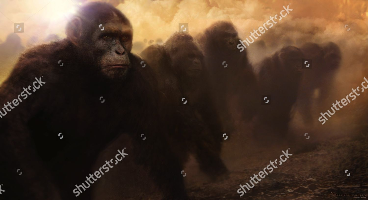 Rise Planet Apes 2011 Editorial Stock Photo Stock Image Shutterstock