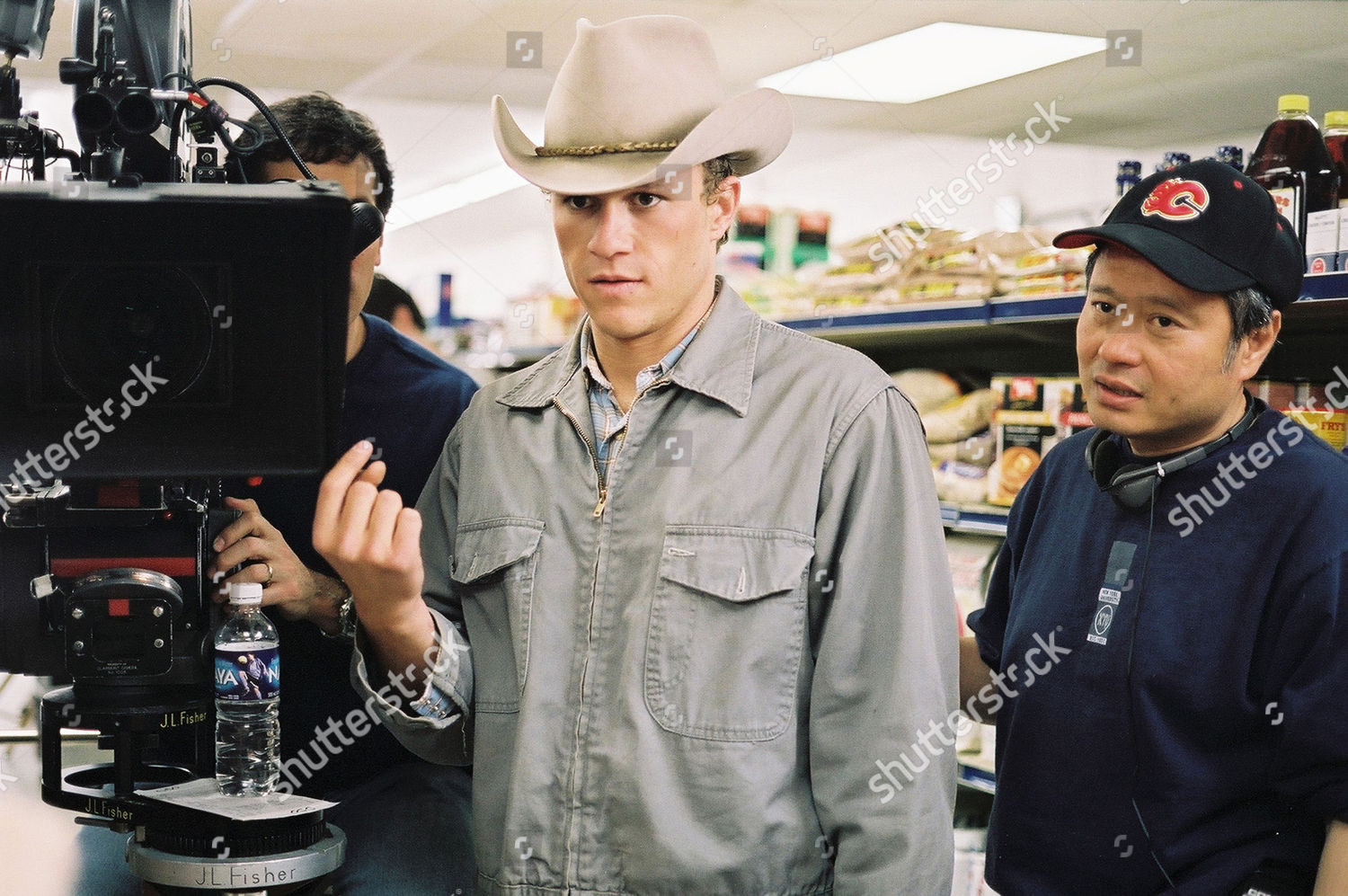 Heath Ledger Ang Lee Editorial Stock Photo Stock Image Shutterstock