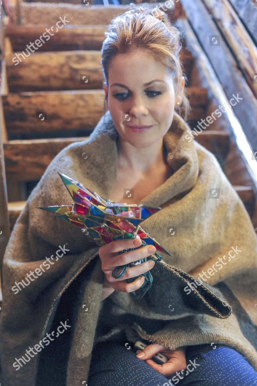 Christmas Under Wraps.Candace Cameron Bure Editorial Stock Photo Stock Image