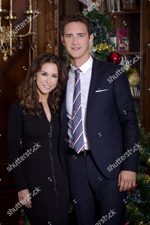 A Royal Christmas.Lacey Chabert Stephen Hagan Editorial Stock Photo Stock