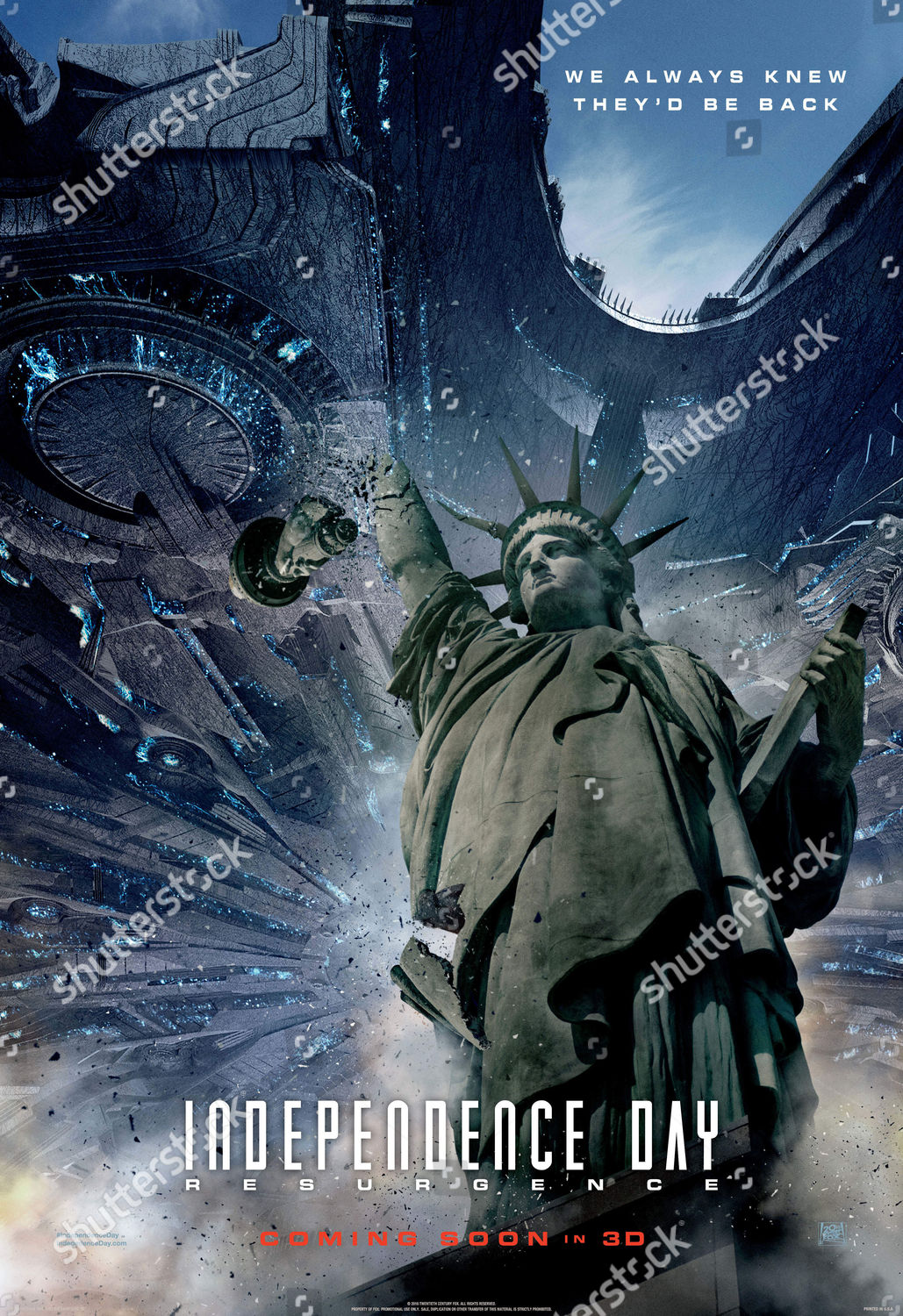 Independence Day Resurgence 2016 Editorial Stock Photo Stock Image Shutterstock