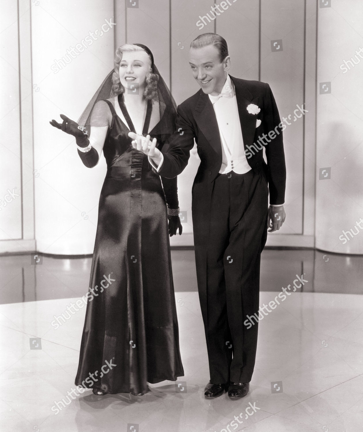 Ginger Rogers Fred Astaire Editorial Stock Photo Stock