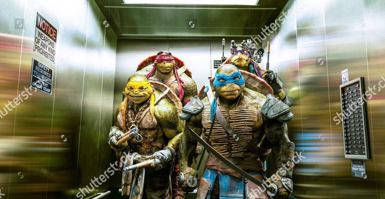 Teenage Mutant Ninja Turtles 2014 Editorial Stock Photo Stock Image Shutterstock