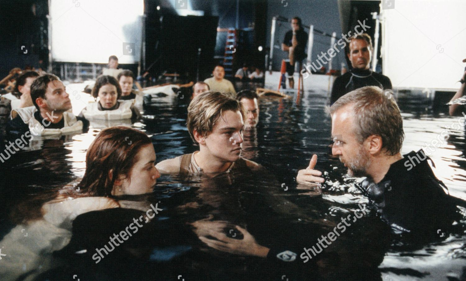 Kate Winslet Leonardo Dicaprio James Cameron Editorial Stock Photo Stock Image Shutterstock