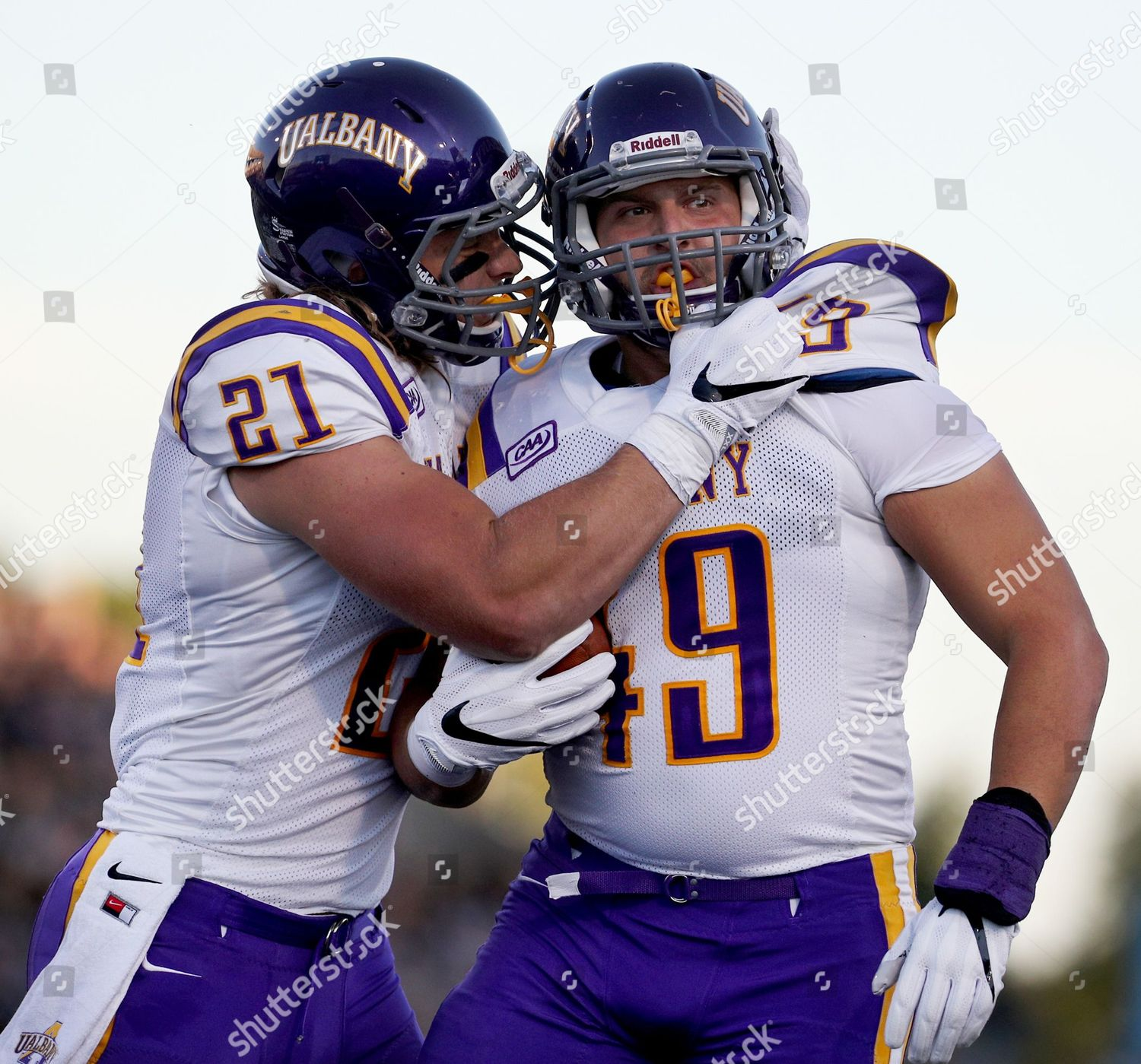 separation shoes 2e1a7 e1b79 Albany Great Danes tight end Nic Ketter Editorial Stock ...