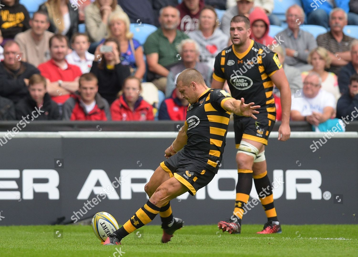Jimmy Gopperth Wasps Converts Penalty 2520 During Editorial Stock Photo Stock Image Shutterstock