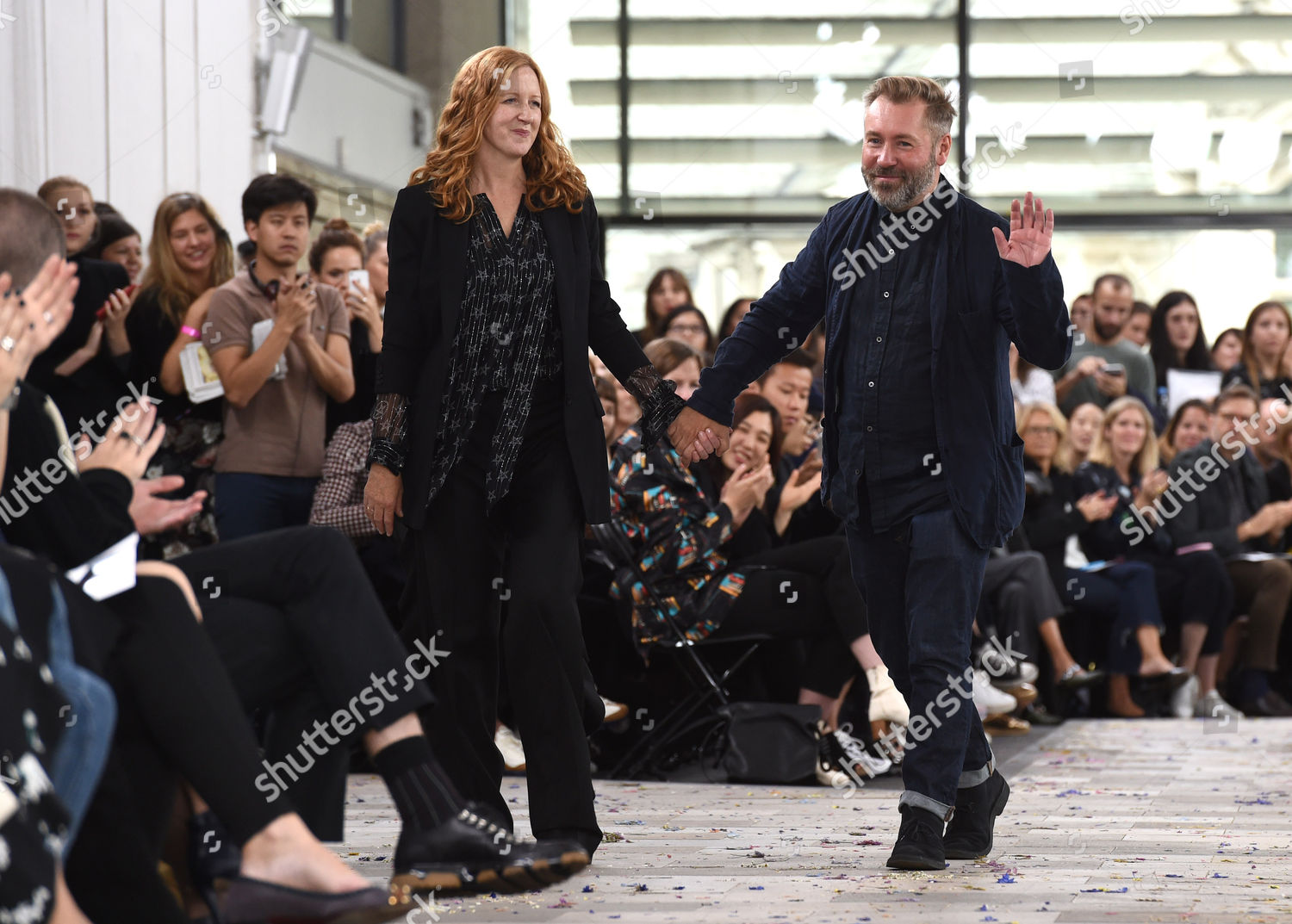 Designers Justin Thornton Thea Bregazzi On Catwalk Editorial Stock Photo Stock Image Shutterstock