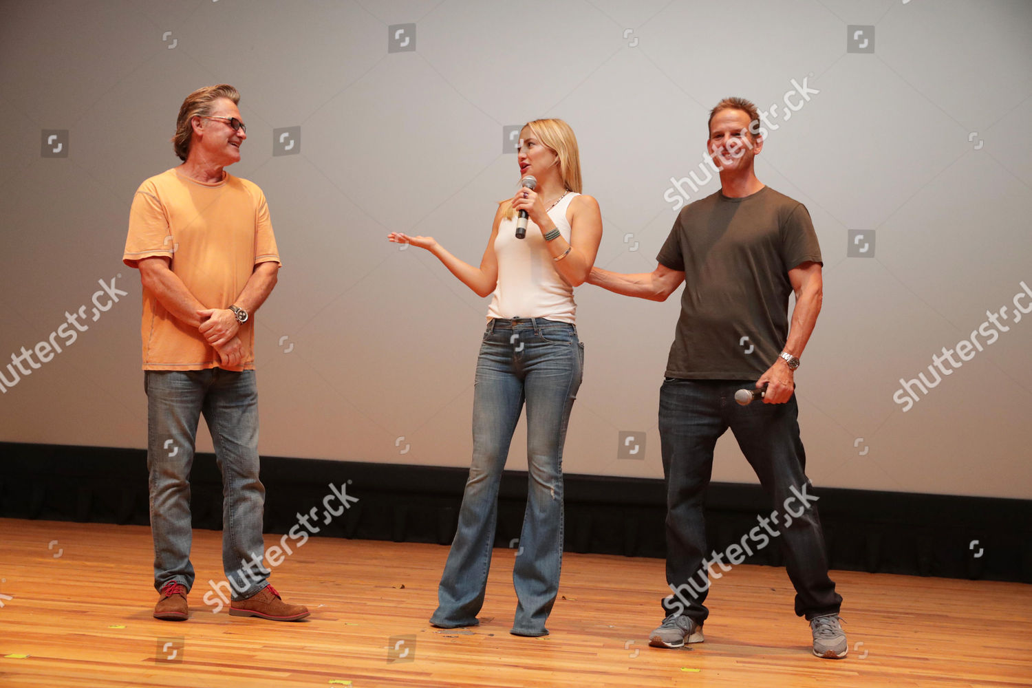 Kurt Russell Kate Hudson Peter Berg Editorial Stock Photo
