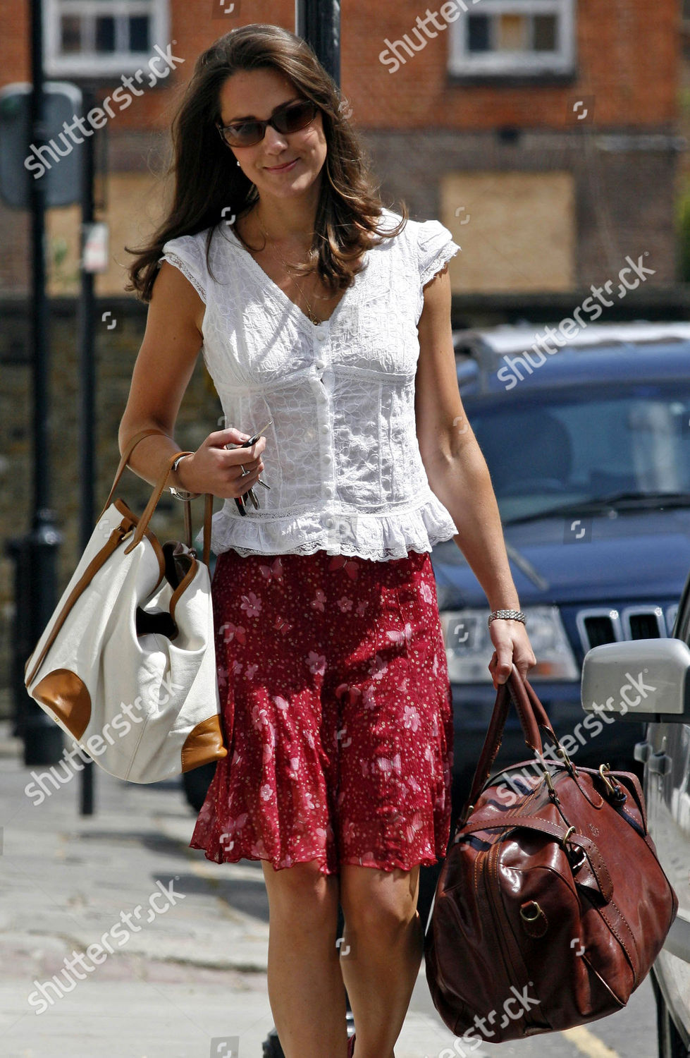 b6a76cb853019 Kate Middleton walking back her car after Editorial Stock Photo ...