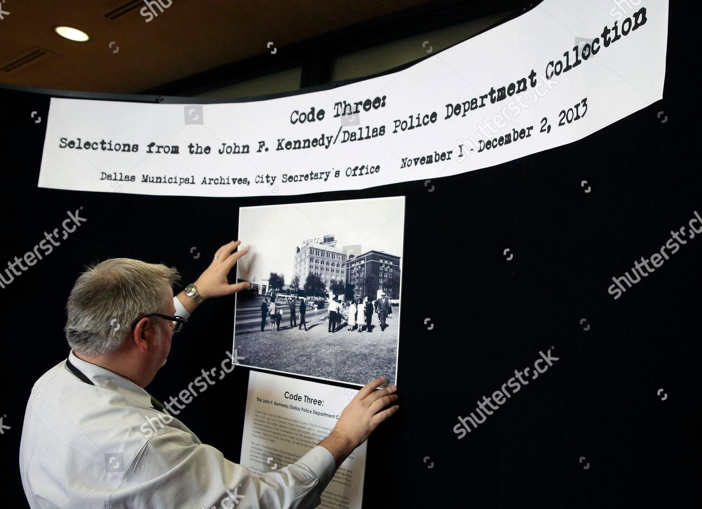 John Slate Dallas City Archivist John Slate Editorial Stock