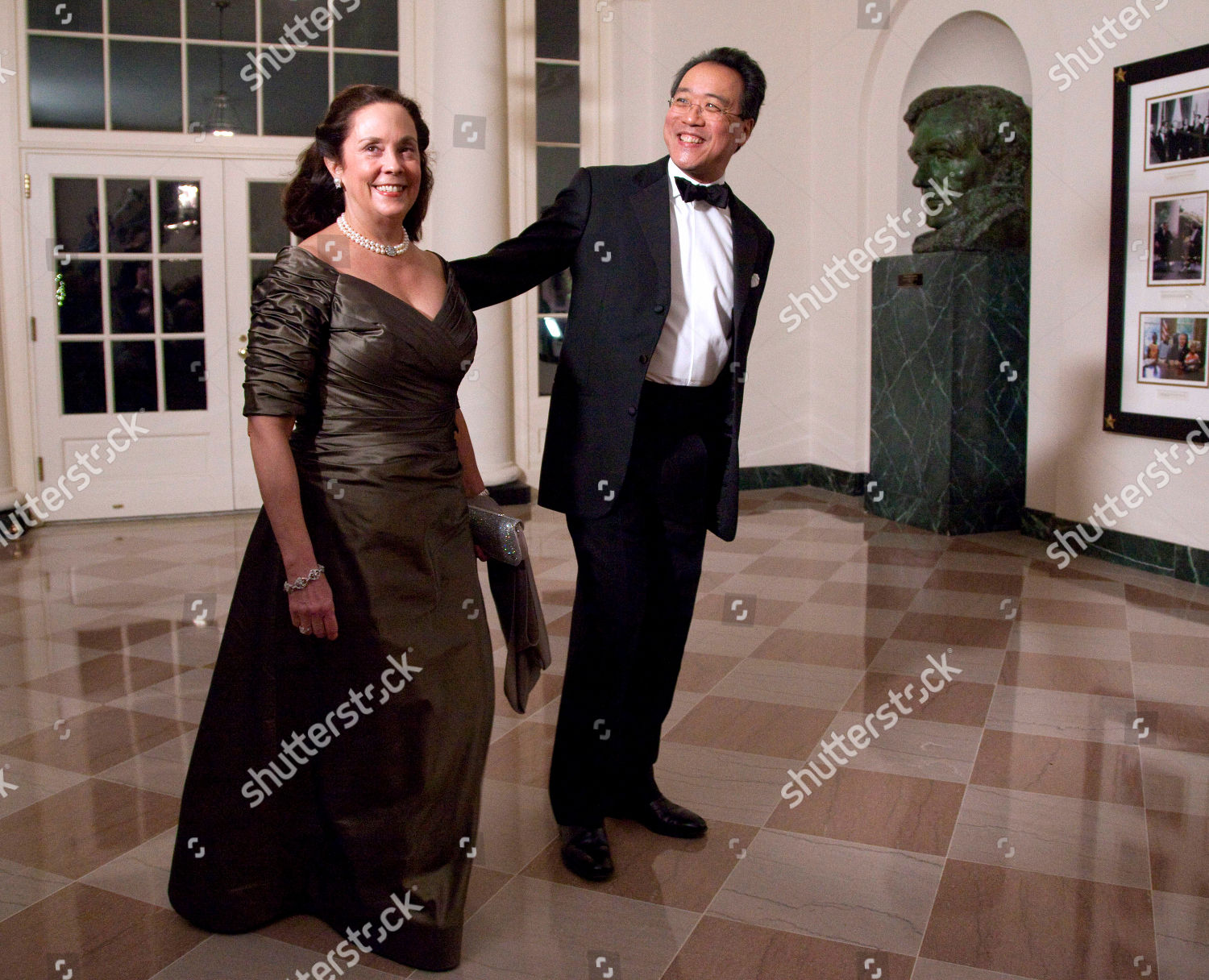 Yo Yo Ma Jill Hornor Musician Yo Editorial Stock Photo