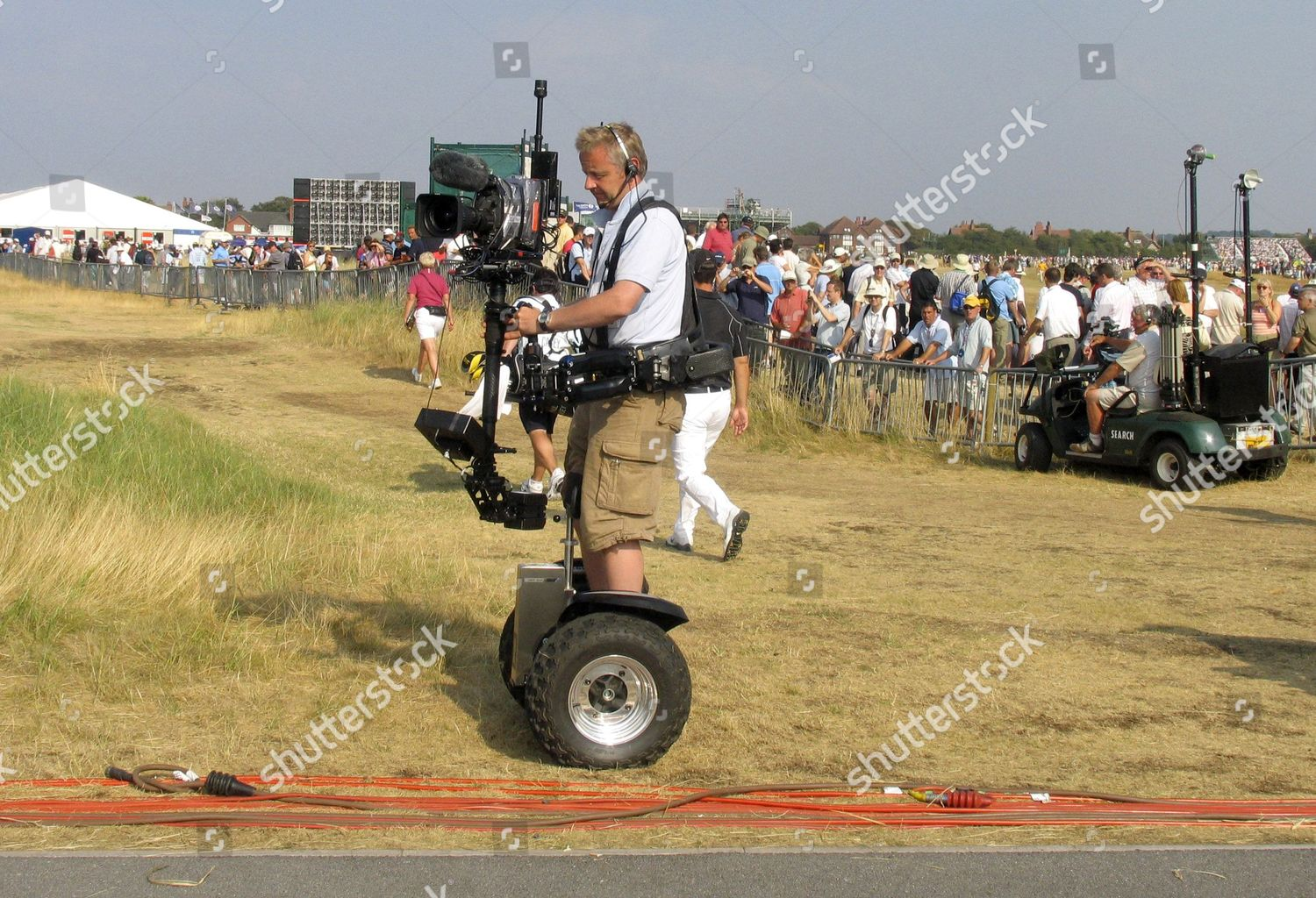 The Open Golf Championship At Royal Liverpool Club Hoylake Wirral Britain Stock Image By Charles Knight For Editorial Use Jul 21 2006