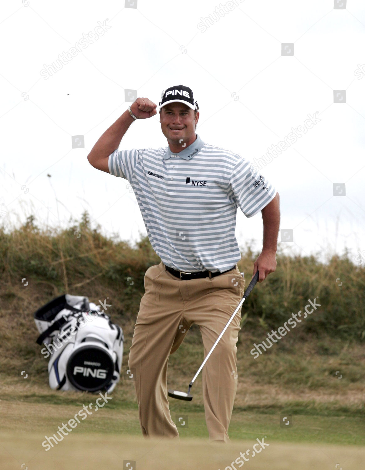 The Open Golf Championship At Royal Liverpool Club Hoylake Wirral Britain Stock Image By Charles Knight For Editorial Use Jul 23 2006