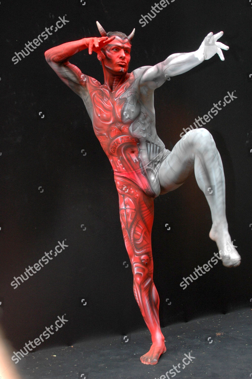 Bodypainting Festival Themes Art History Transport Move Editorial Stock Photo Stock Image Shutterstock