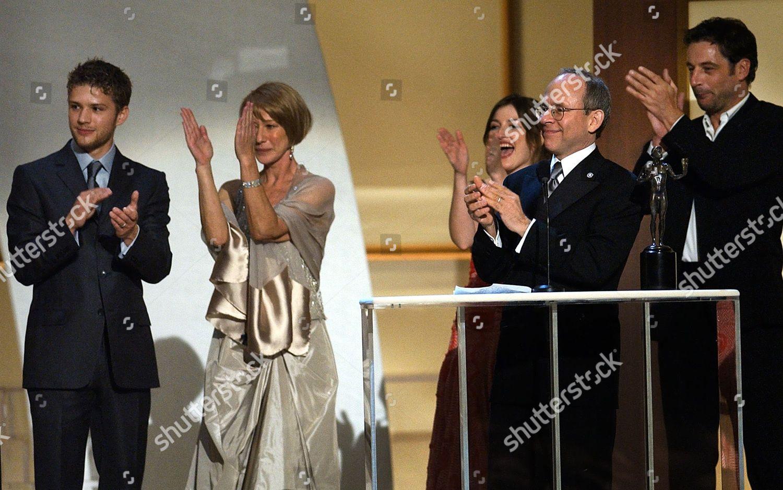 Northam Cast Members Film Gosford Park Applaud Editorial Stock Photo