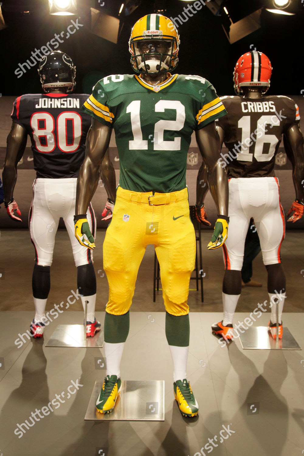 innovative design 0b64b f849b new Green Bay Packers uniform displayed on Editorial Stock ...