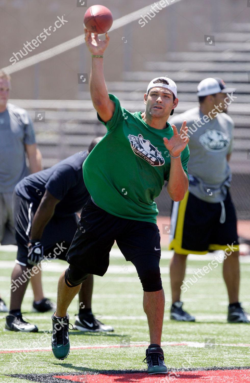 New York Jets quarterback Mark Sanchez throws Editorial