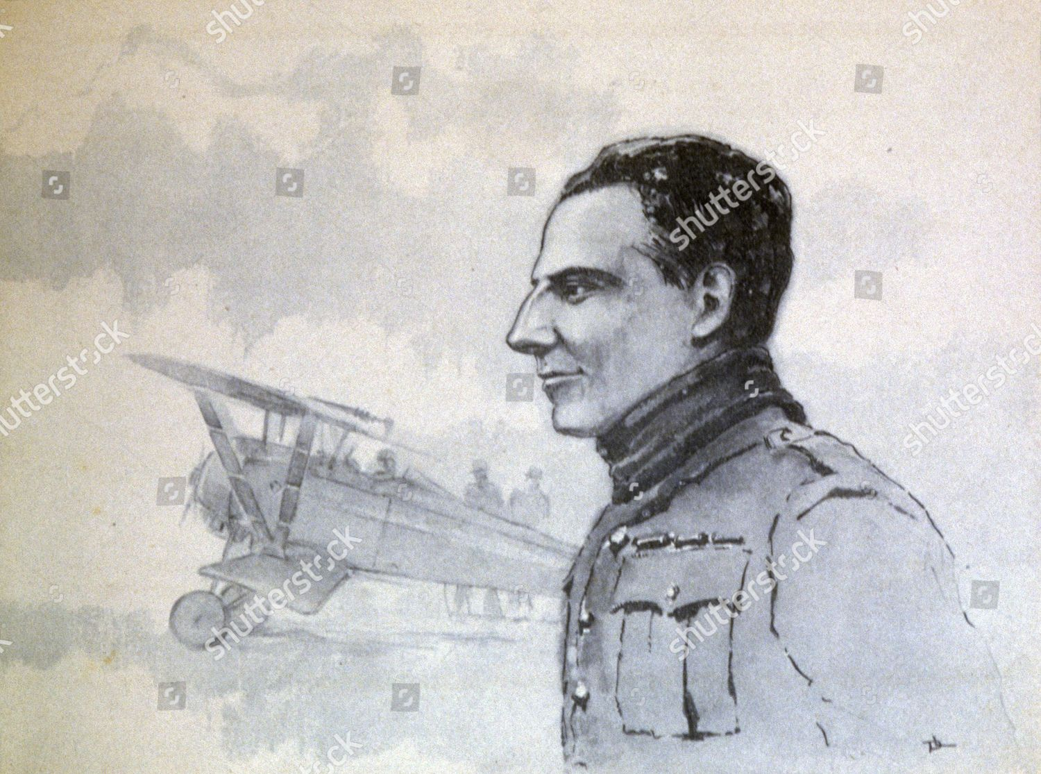 Georgesmarie guynemer 18941917 french fighter pilot ace editorial stock photo stock image shutterstock