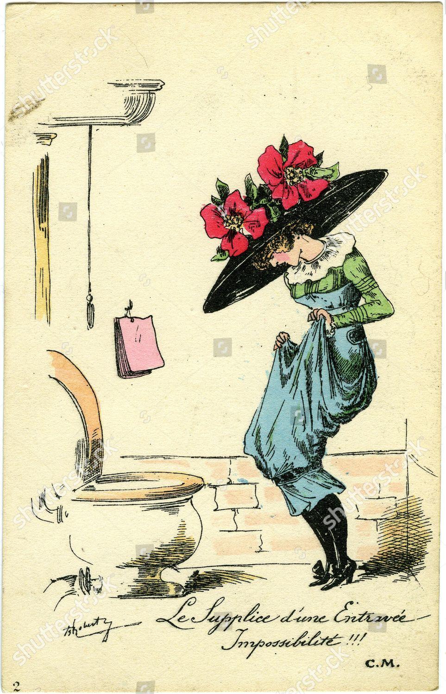 Смешные рисунки, открытки франции 18 века