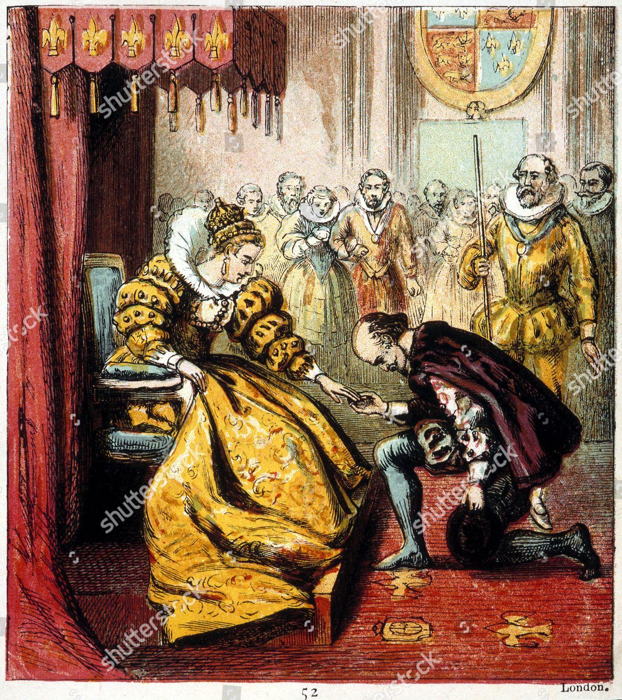 Queen Elizabeth 15331603 Meeting William Shakespeare