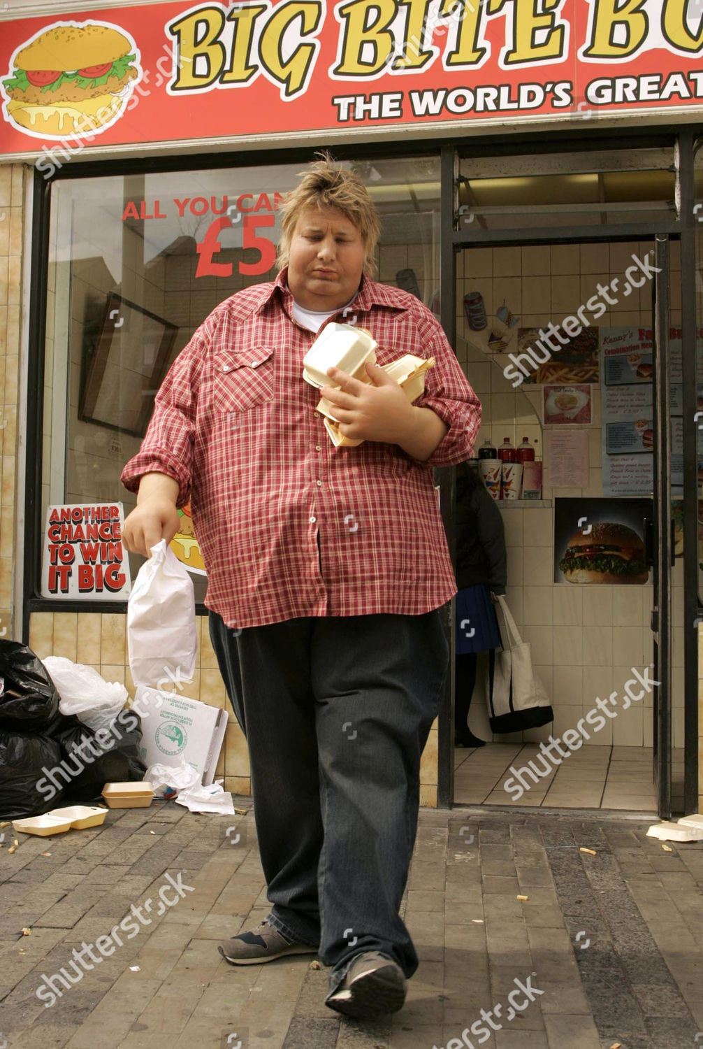 Overweight Jamie Oliver Takeaway Editorial Stock Photo Stock Image Shutterstock