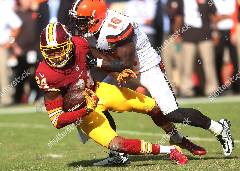95f99c0d031 Washington Redskins CB Josh Norman 24 makes Editorial Stock Photo ...
