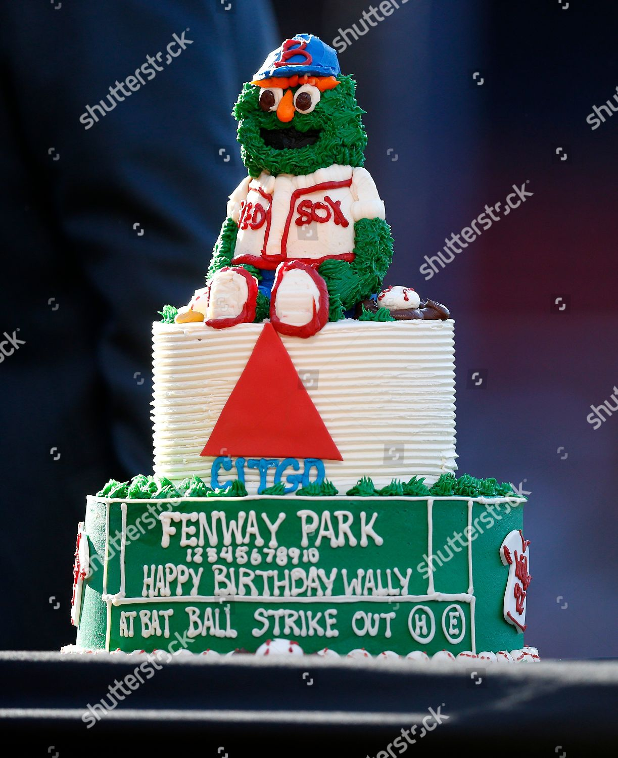 Prime Birthday Cake Boston Red Sox Mascot Wally Editorial Stock Photo Personalised Birthday Cards Paralily Jamesorg