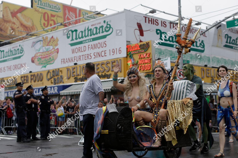 Stock photo of Mermaid Parade, New York, USA