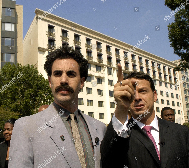 Borat Sagdiyev Aka Sacha Baron Cohen Walks Editorial Stock Photo Stock Image Shutterstock