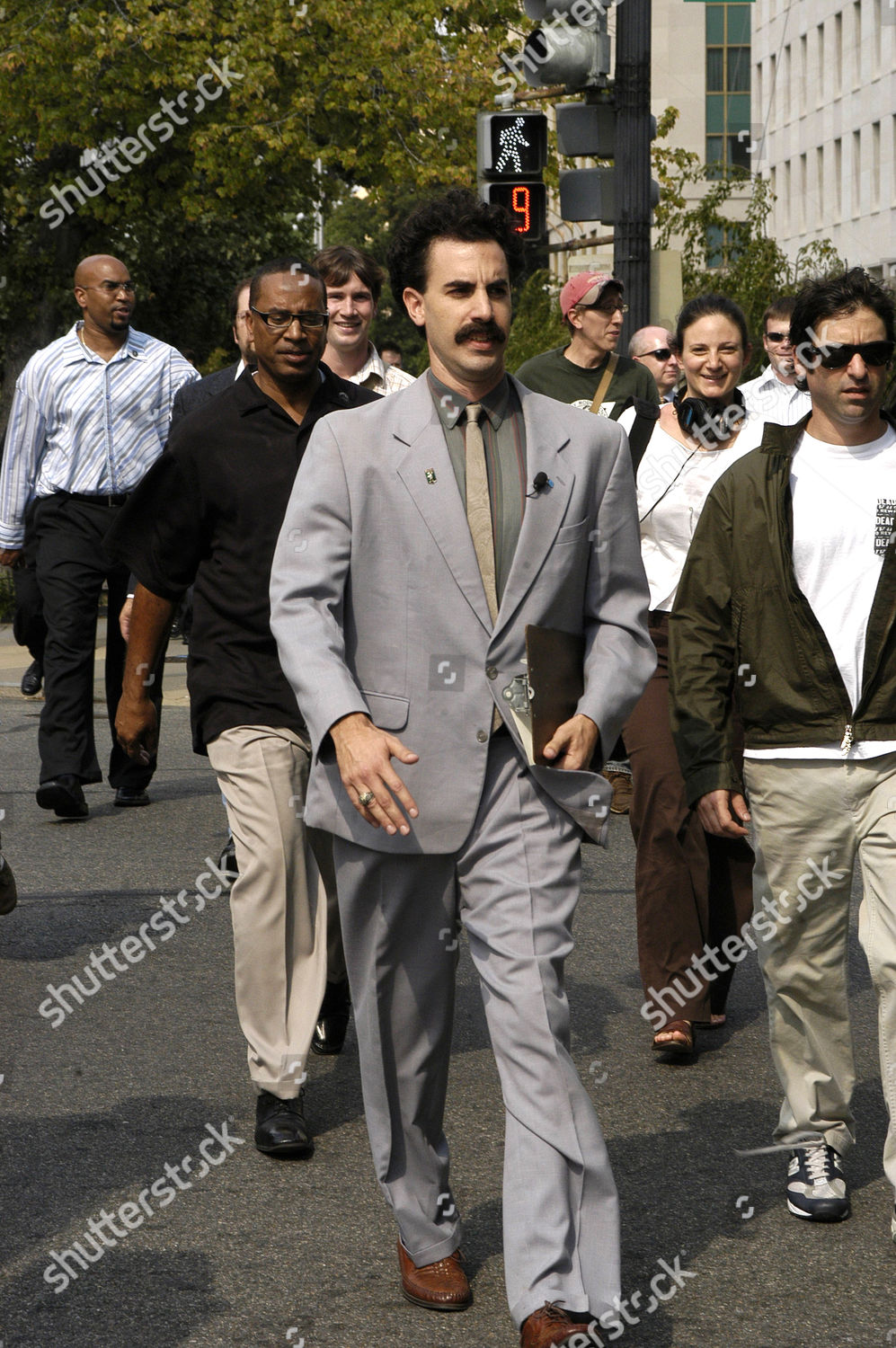 29f1871c348 Sacha Baron Cohen promoting his new film 'Borat: Cultural Learnings of  America for Make