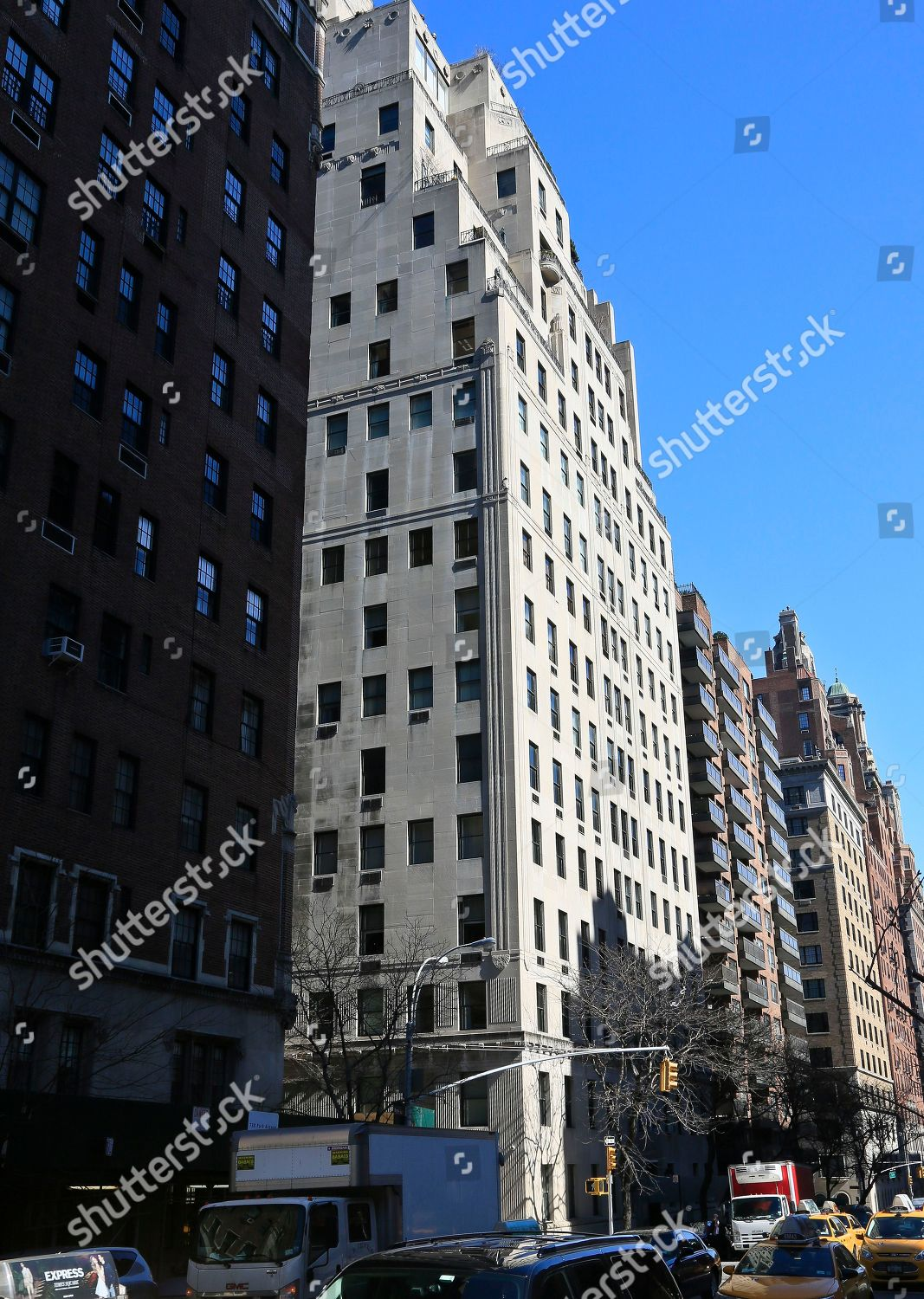 740 Park Avenue This Shows 740 Park Editorial Stock Photo Stock