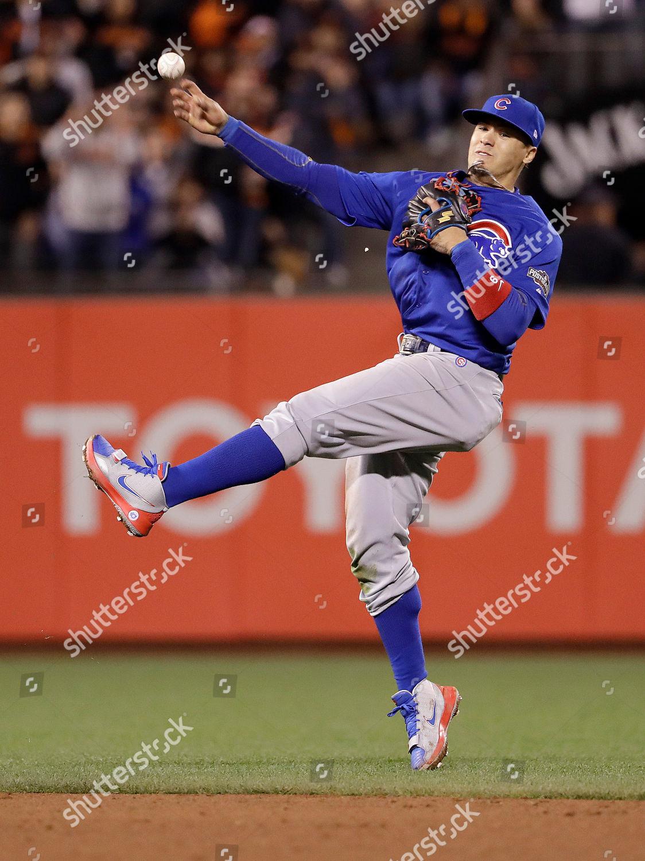 Javier Baez Chicago Cubs second baseman Javier Editorial Stock Photo