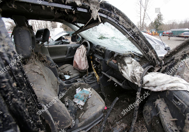 This photo Southington Ohio shows interior vehicle Editorial