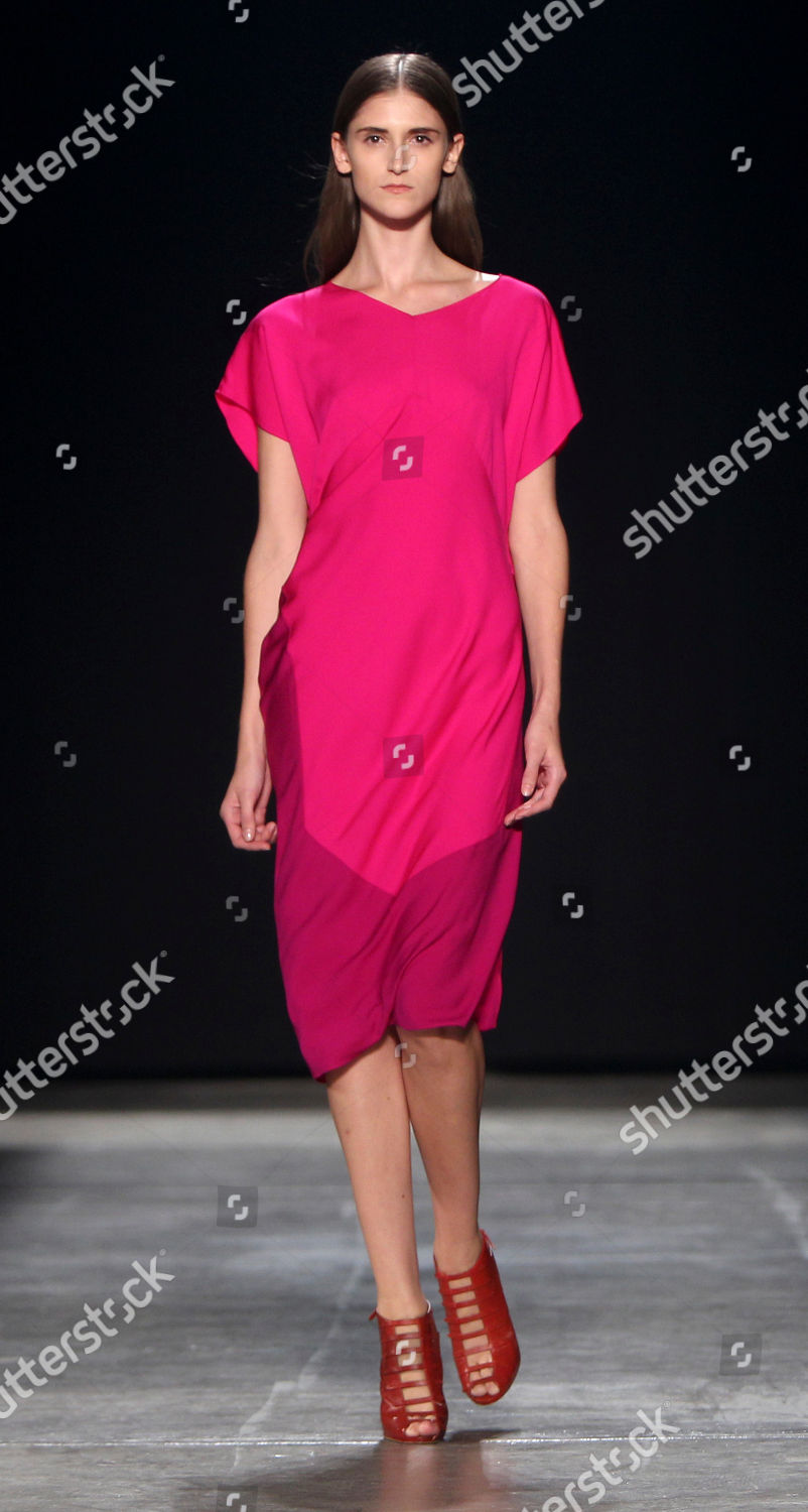 Outfit Narciso Rodriguez Spring 2013 Collection During Editorial Stock Photo Stock Image Shutterstock